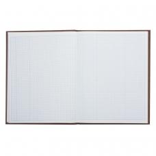 Книга учета 96 л., А4 210*265 мм STAFF, клетка, твердая обложка из картона, бумвинил, блок офсет, 130042