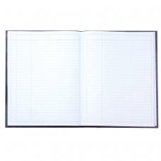 Книга учета 96 л., А4 210*265 мм STAFF, линия, твердая обложка из картона, бумвинил, блок офсет, 130043