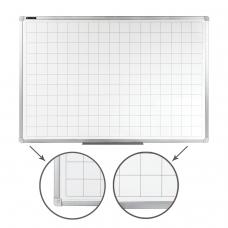 Доска магнитно-маркерная, линовка клетка, BRAUBERG, 60х90 см, алюминиевая рамка, 236862